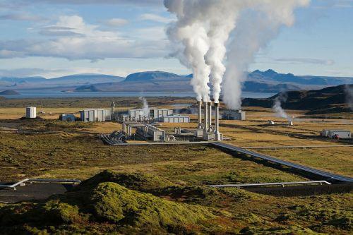 power plant geothermal geothermal energy