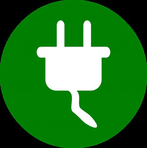 power-plug symbol icon