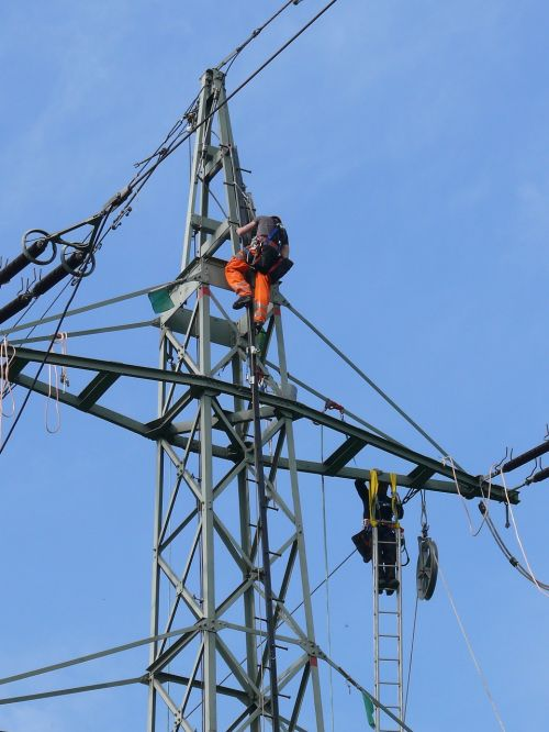 power poles energy electricity