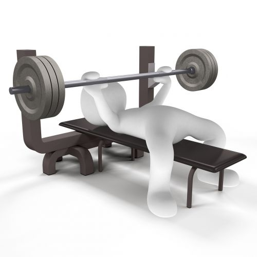 power sports weights training
