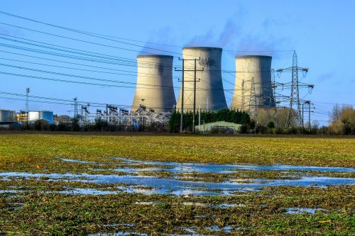 power station electricity cooling tower