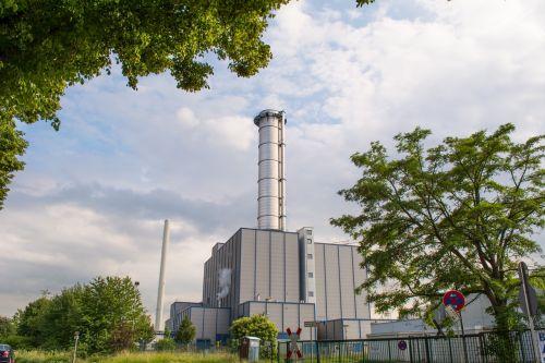 power station chimney metal