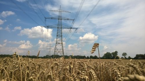 power supply power line transmission network