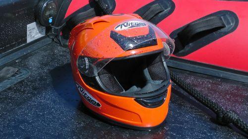 Powerboat Racer's Helmet