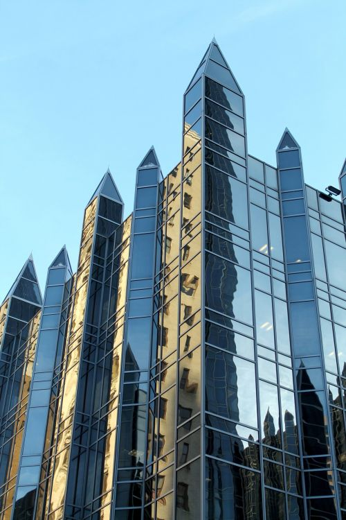 PPG Place, Pittsburgh - Detail