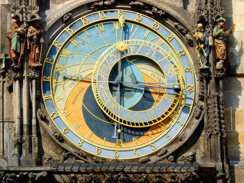 prague old town astronomical clock