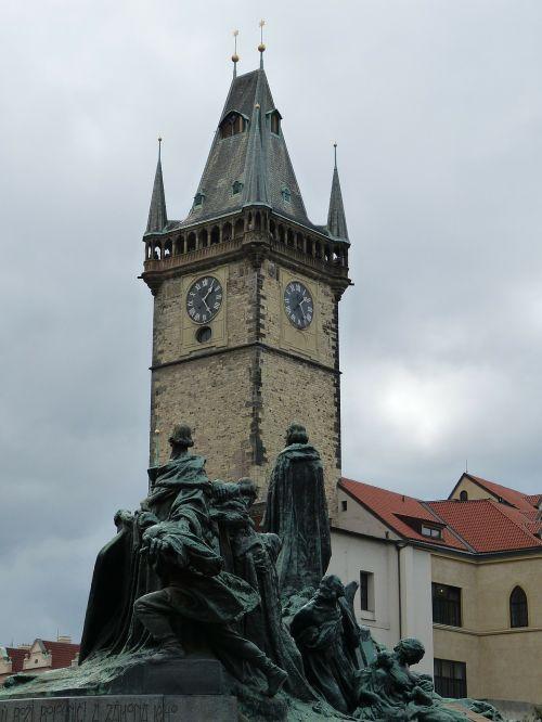 prague old town city