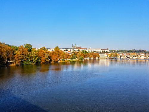 prague autumn city