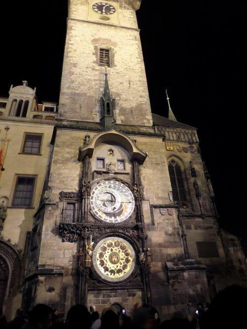 prague astronomical clock clock