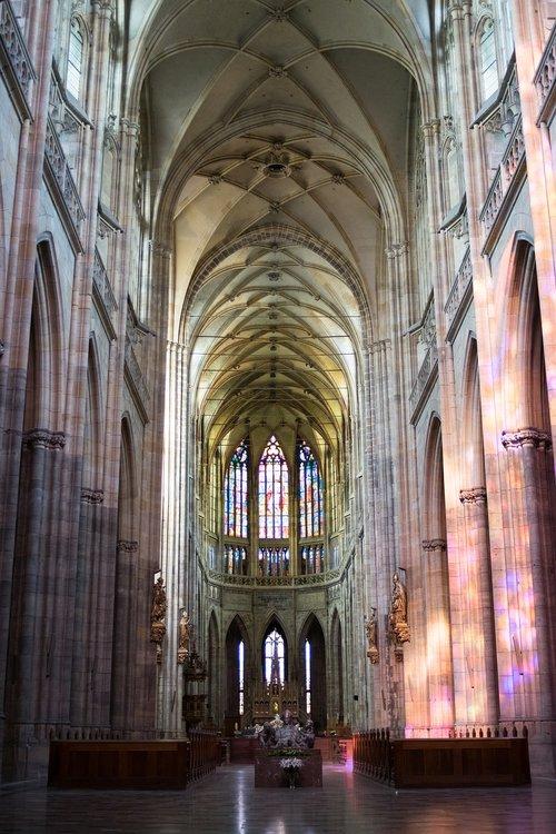 prague  czech republic  the cathedral