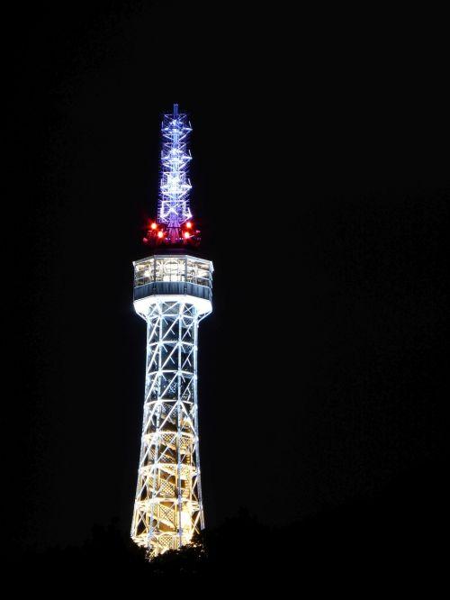 prague eiffel tower petřín hill prague