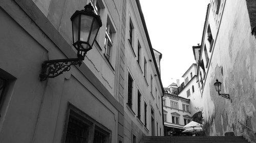 prague street  prague  the streets of prague