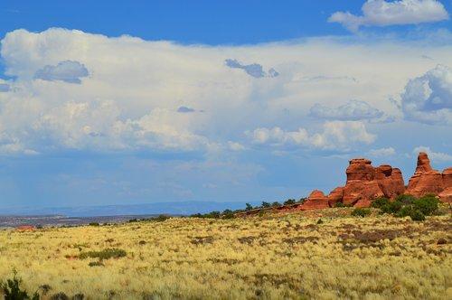 prairie  rocks  landscape