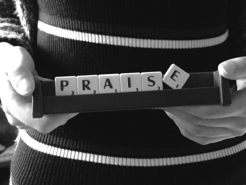 praise word scrabble