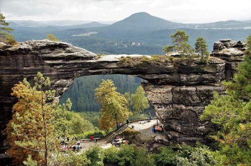 pravcice gate czech switzerland czech republic
