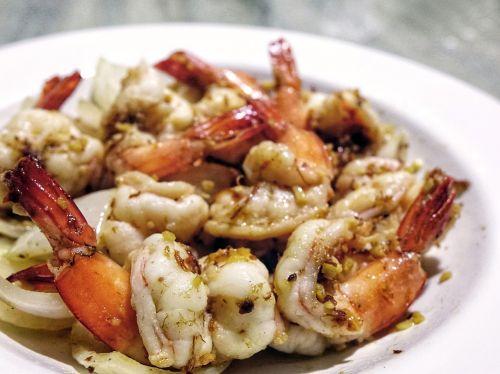 prawn seafood shrimp