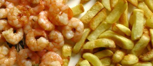 Prawns & French Fries