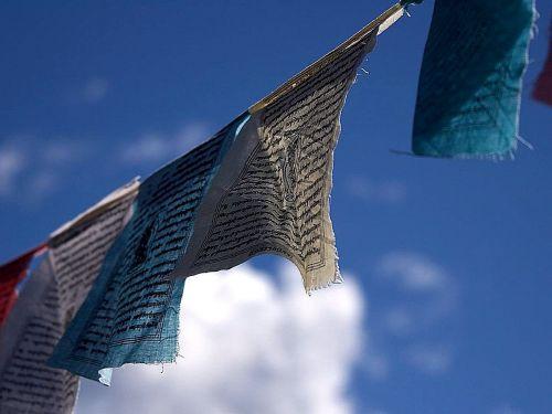 prayer flags breeze