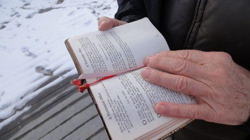 prayer book bible reading