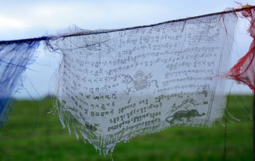 prayer flag buddhism believe