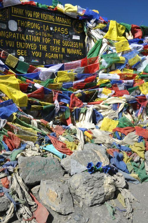 prayer flags flags annapurna