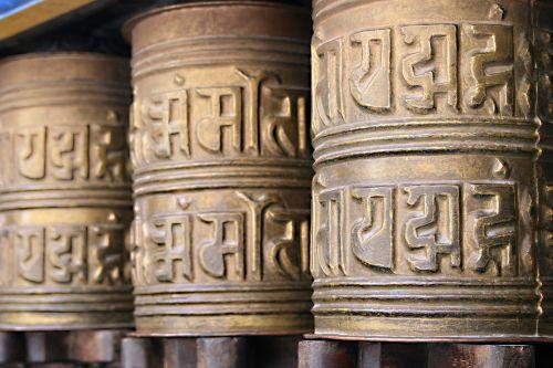 prayer wheel buddhism nepal