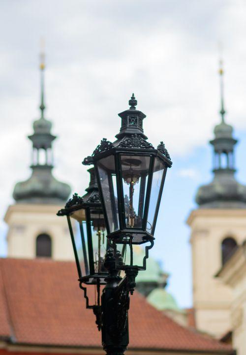 Prague Lamps