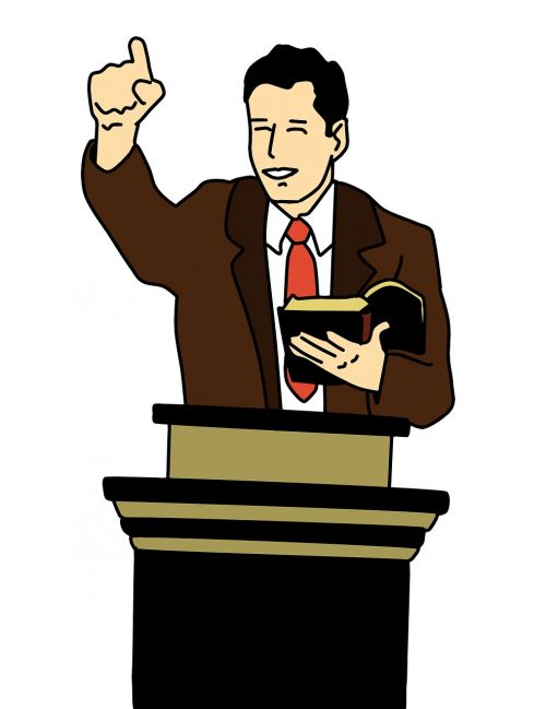 preacher illustration jesus christ