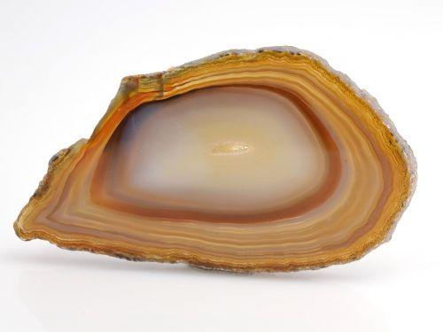 precious stone agate orange