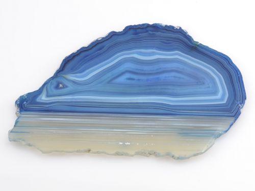 precious stone agate blue
