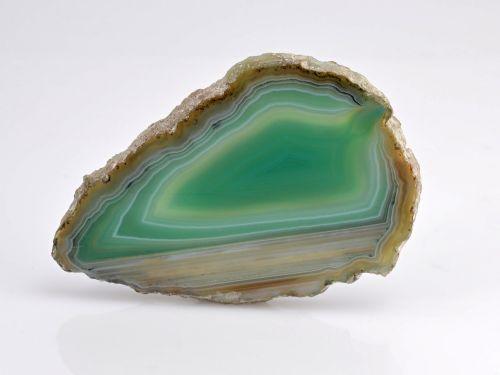 precious stone agate green