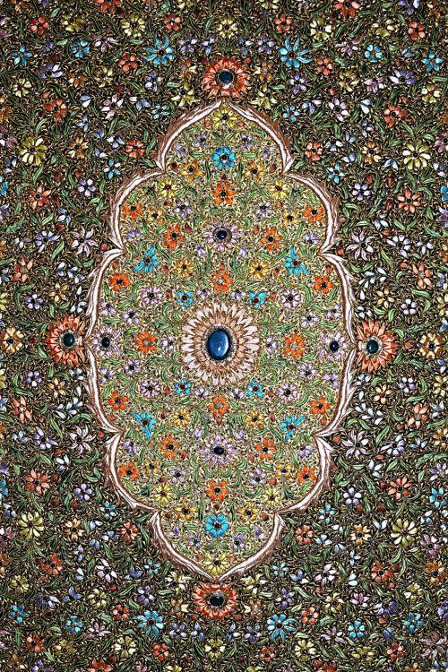 Precious Stonework Carpet