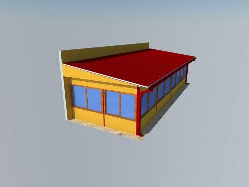 prefab structure render