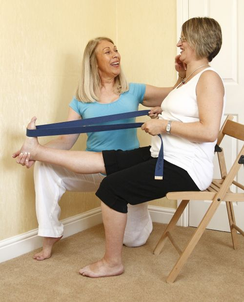 pregnancy health stretching