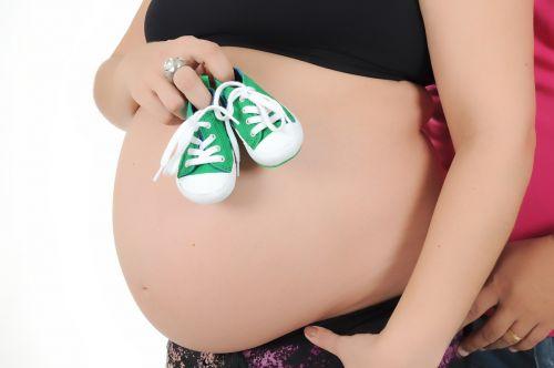 pregnant woman belly boy