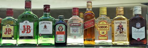 premium drinks selection