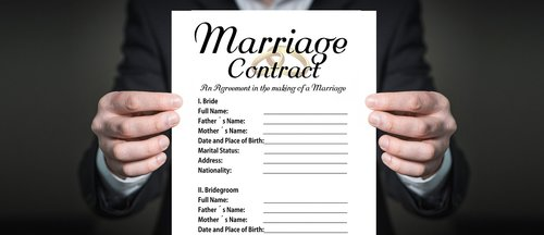 prenup  before  contract