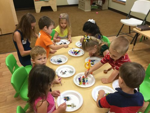 preschoolers arts and crafts kids learning