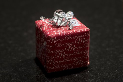 present  christmas  package
