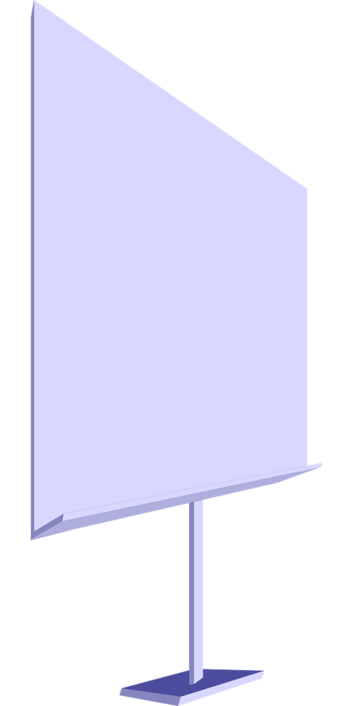 presentation board projection