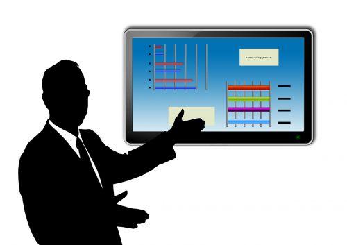 presentation eboard man