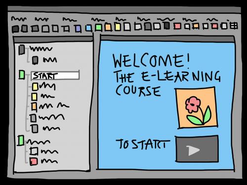 presentation gui e learning