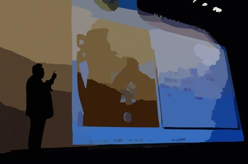 presentation projector slide
