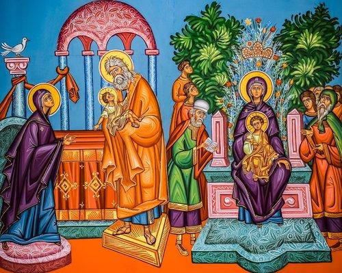 presentation of christ  ypapanti  virgin mary