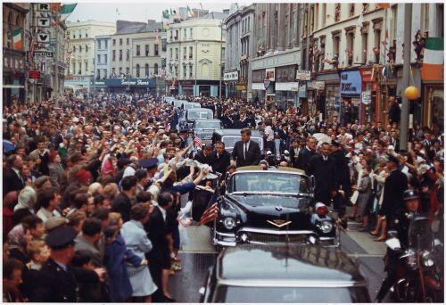 president john kennedy american motorcade