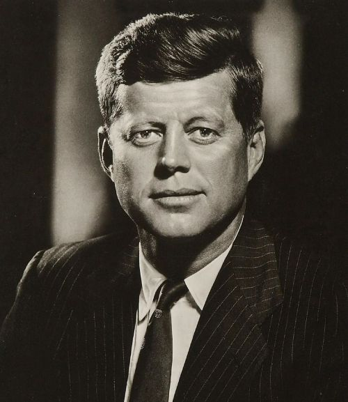 president john kennedy 35th president assassinated