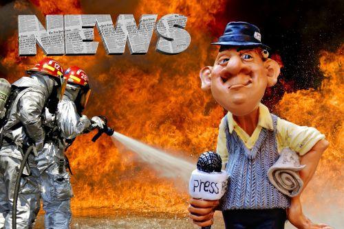 press journalist disaster