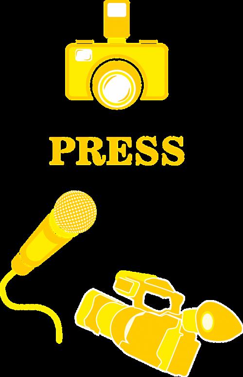 press interview photo
