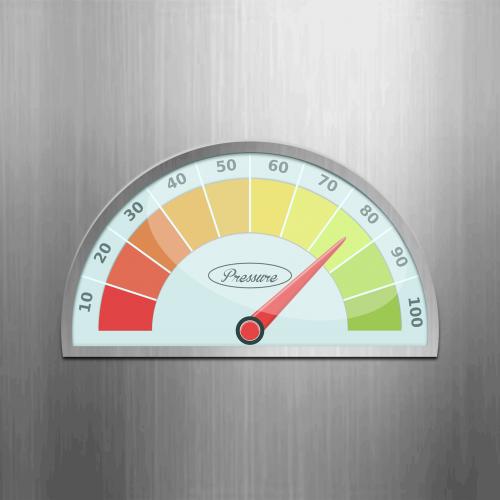pressure manometer indicator