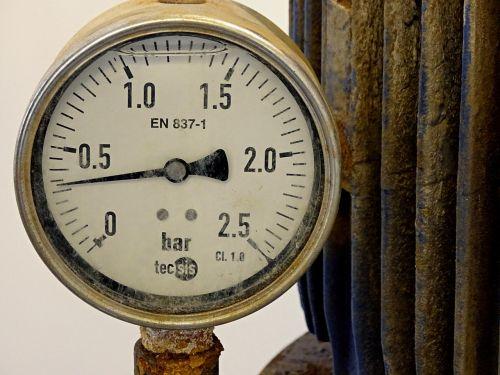 pressure gauge gauge water pressure